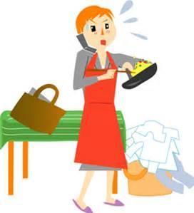 働くママ料理