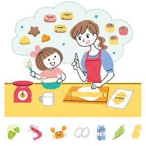 母と子キッチン