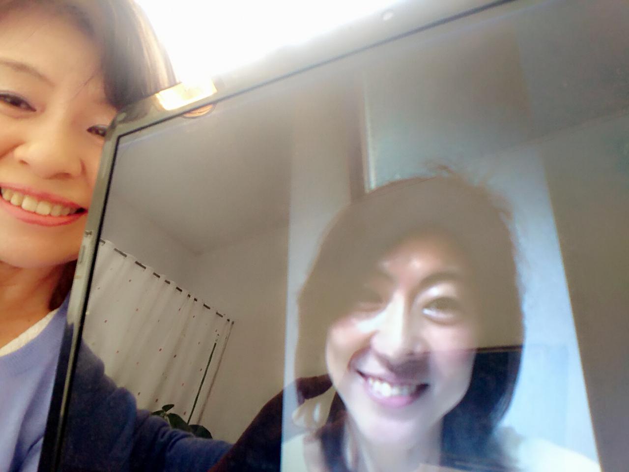 外村陽子さんとの写真