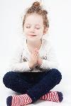 瞑想女の子