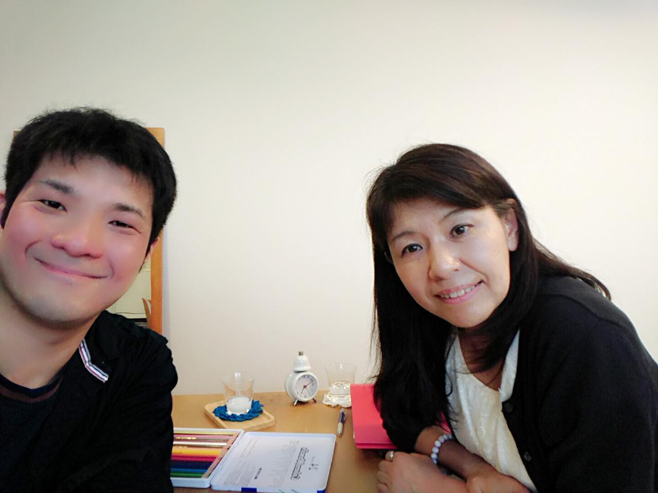 藤田さんとの写真